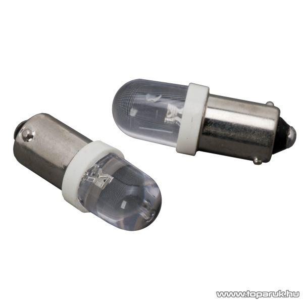 Carguard 1 LED-es izzó helyzetjelző, BA9s foglalat, 0,12W, DC12V 2 db / csomag (51001) - megszűnt termék: 2016. április