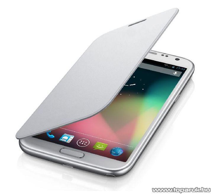 ConCorde SmartPhone 5700 flip mobiltelefon tok, fehér - készlethiány