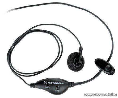 Motorola NTN8870DR adó-vevő kiegészítő fülhallgató mikrofonnal (headset)