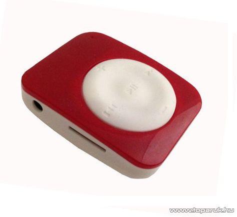 ConCorde D-230 MSD memóriakártyával bővíthető MP3 lejátszó, fehér-piros - megszűnt termék: 2015. november