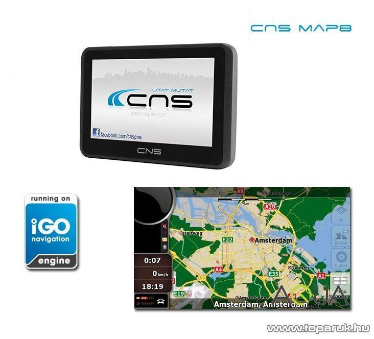 CNS Globe Smart PNA készülék, CNS MAP8 EU navigációs szoftverrel - készlethiány