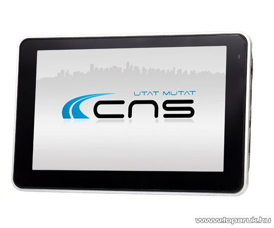CNS Globe VIA PNA készülék, navigációs szoftver nélkül - készlethiány