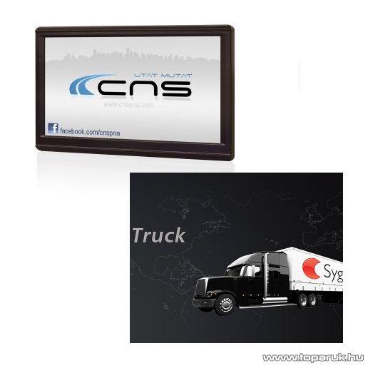 CNS Truck HD 2 PNA készülék, Sygic Truck EU (kamionos) navigációs szoftverrel - megszűnt termék: 2015. január