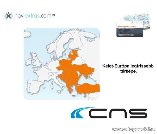 CNS MAP8 frissítő kártya Kelet-Európa