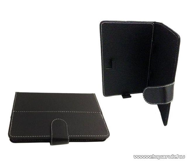 """ConCorde tab 7""""-os tablet műbőr tok, fekete"""