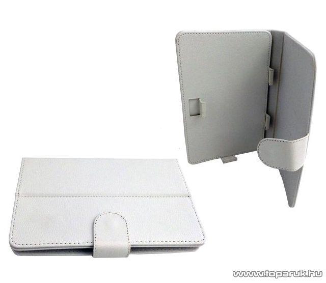 """ConCorde tab 7""""-os tablet műbőr tok, fehér - megszűnt termék: 2015. december"""