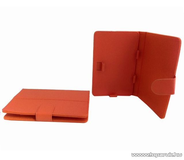 """ConCorde tab 7""""-os tablet műbőr tok, narancssárga"""