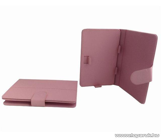 """ConCorde tab 7""""-os tablet műbőr tok, rózsaszín (pink)"""