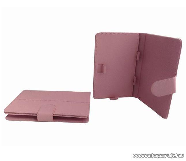 ConCorde tab PLAY tablet műbőr tok, rózsaszín (pink)