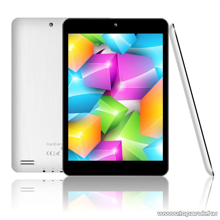 """ConCorde tab VIVO White 8GB tablet, 7,85""""-os LCD kijelző, Android operációs rendszer, fehér"""