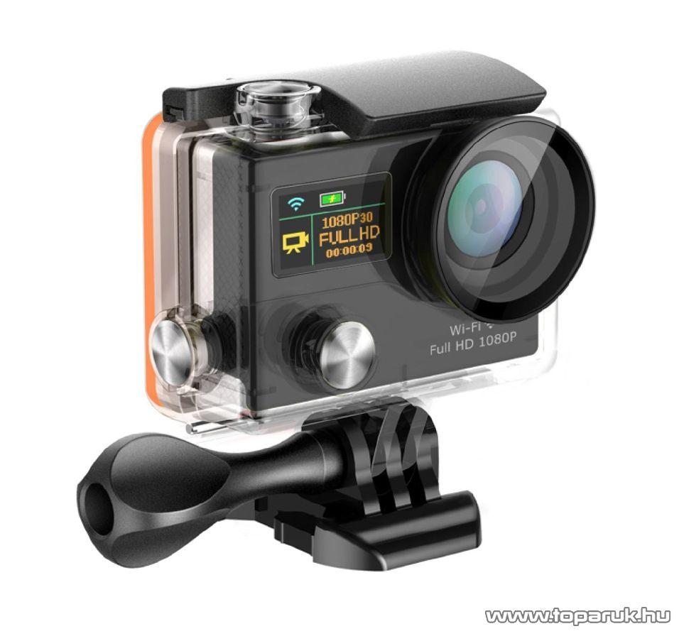 ConCorde SportCam X8 Plus wifi sportkamera (HD kalandkamera) vízálló házzal, fekete