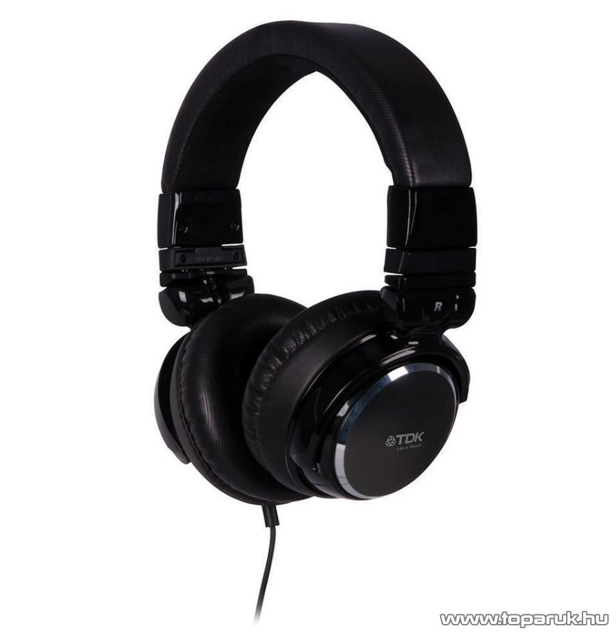 TDK Life on record ST410 DJ fejhallgató, fekete - megszűnt termék: 2015. január