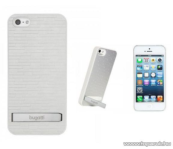 bugatti CPP-AP 08141 álló Apple iPhone 5 mobiltelefon tok, fehér