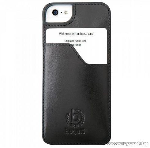 bugatti CPLP-AP 08179 álló Apple iPhone 5 mobiltelefon tok, fekete