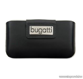 Bugatti City Black iPhone álló mobiltelefon tok (006986)