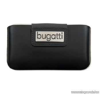 Bugatti City Black iPhone álló mobiltelefon tok (006986)