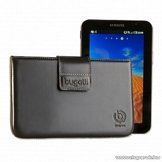 Bugatti Galaxy Tab Leather álló mobiltelefon tok (007587)