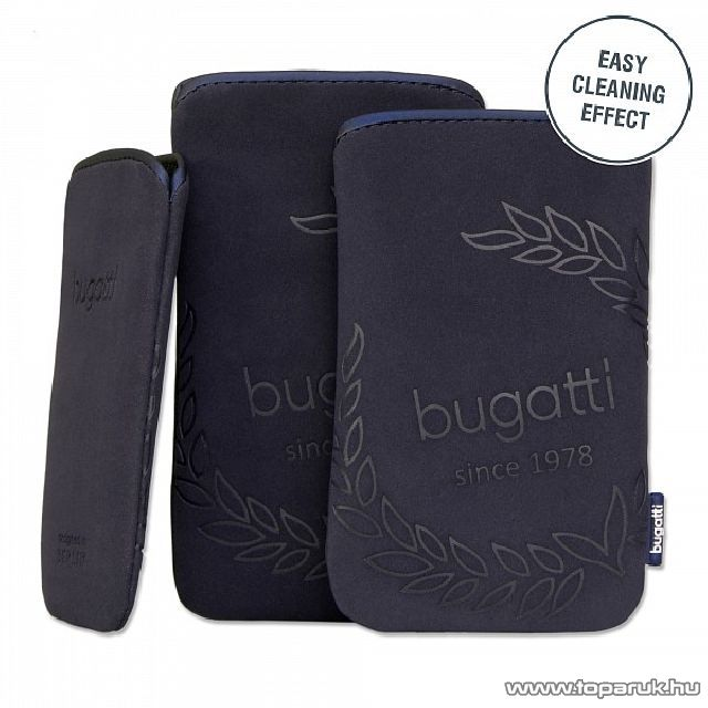 Bugatti Neopren blueberry M álló mobiltelefon tok, 122 x 75m (07708)