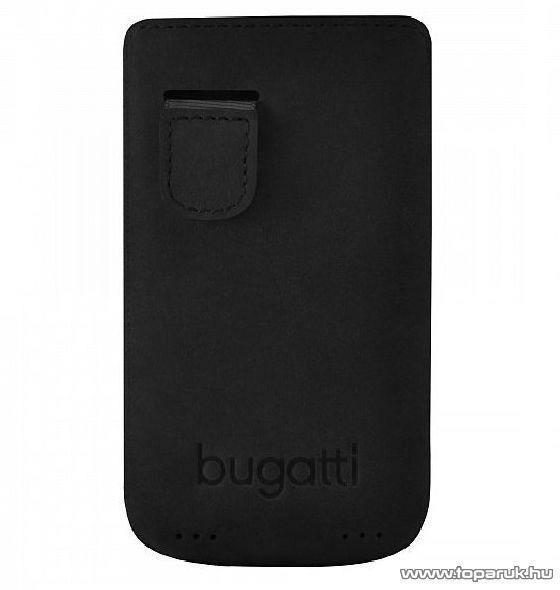 Bugatti Perfect Velvety álló mobiltelefon tok Apple iPhone SE / 5 készülékhez (08090)