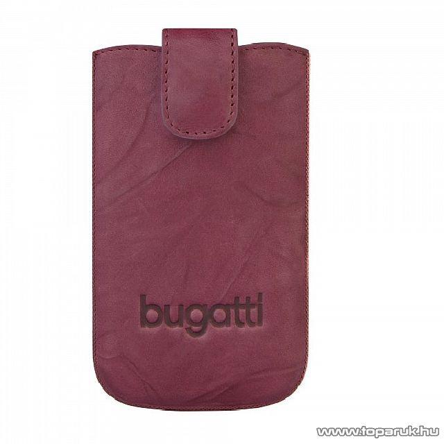 Bugatti SlimCase leather unique álló mobiltelefon tok, 81 x 134 mm (07795) - megszűnt termék: 2015. október