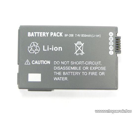 ConCorde for Canon BP208 akkumulátor