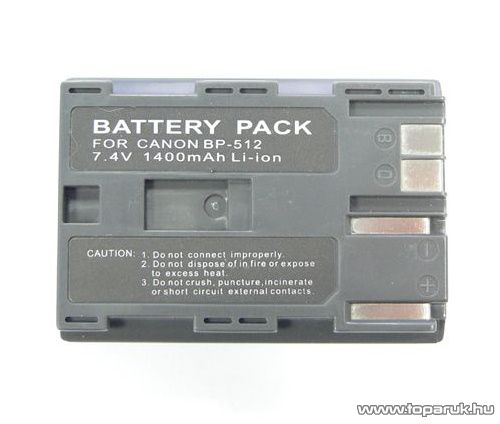 ConCorde for Canon BP512 akkumulátor