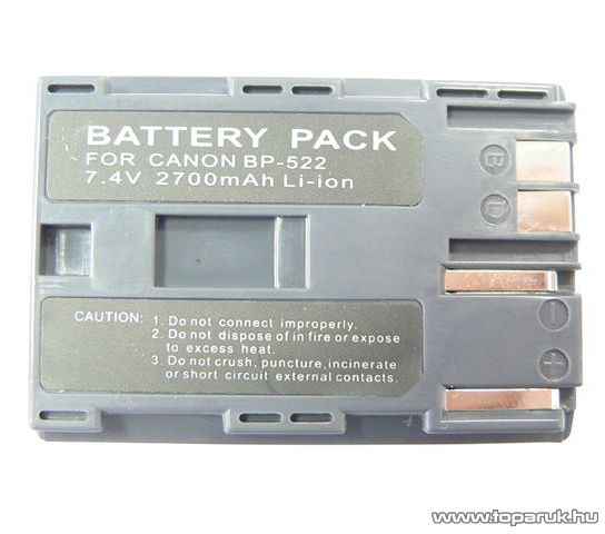 ConCorde for Canon BP522 akkumulátor