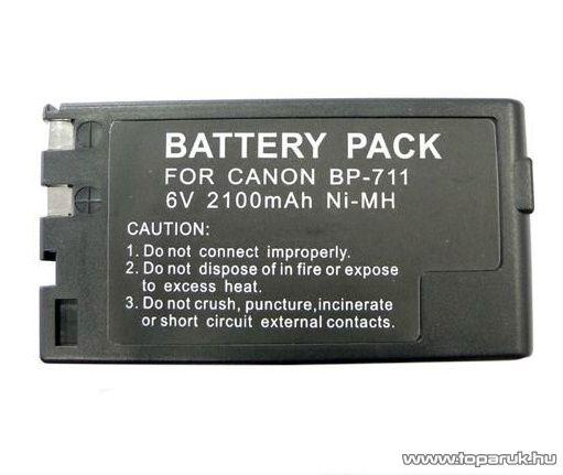 ConCorde for Canon BP711 akkumulátor - megszűnt termék: 2014. november