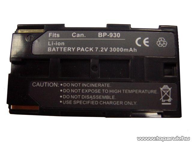 ConCorde for Canon BP930 akkumulátor
