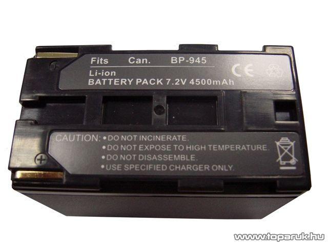 ConCorde for Canon BP945 akkumulátor