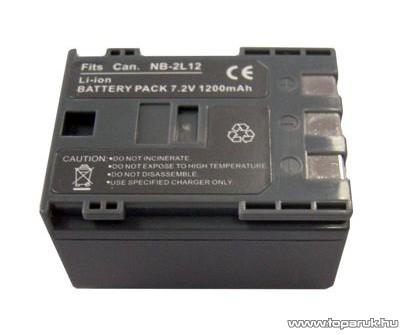 ConCorde for Canon NB2L12 akkumulátor - megszűnt termék: 2015. június