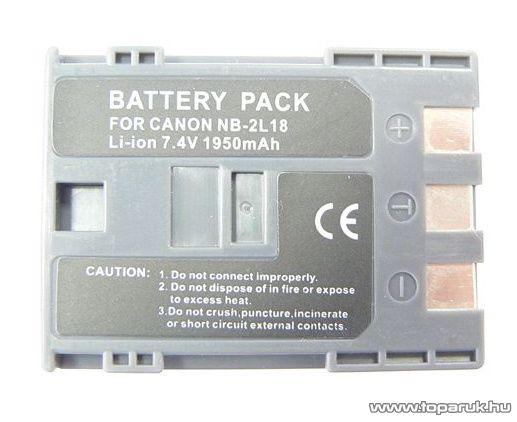 ConCorde for Canon NB2L18 akkumulátor - megszűnt termék: 2015. március