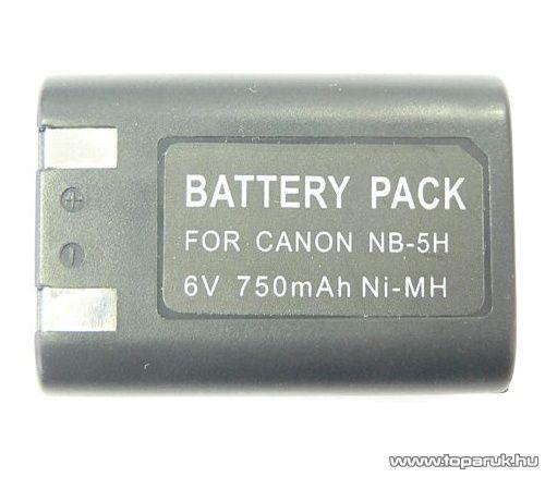 ConCorde for Canon NB5H akkumulátor