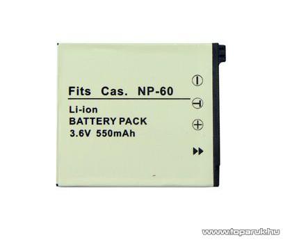 ConCorde for Casio NP-60 akkumulátor
