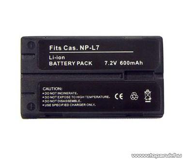 ConCorde for Casio NP-L7 akkumulátor