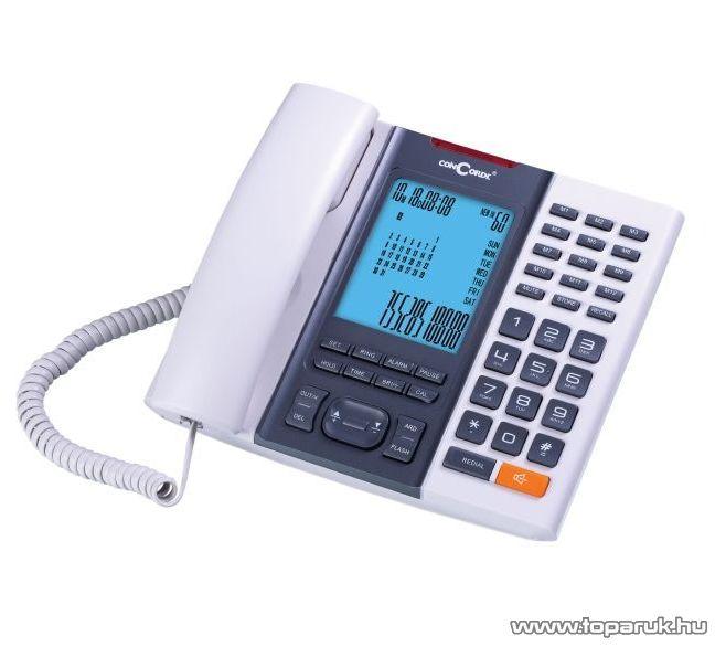 ConCorde 6035CIDi vezetékes CID telefon Baby Call funkcióval, beige - megszűnt termék: 2015. június