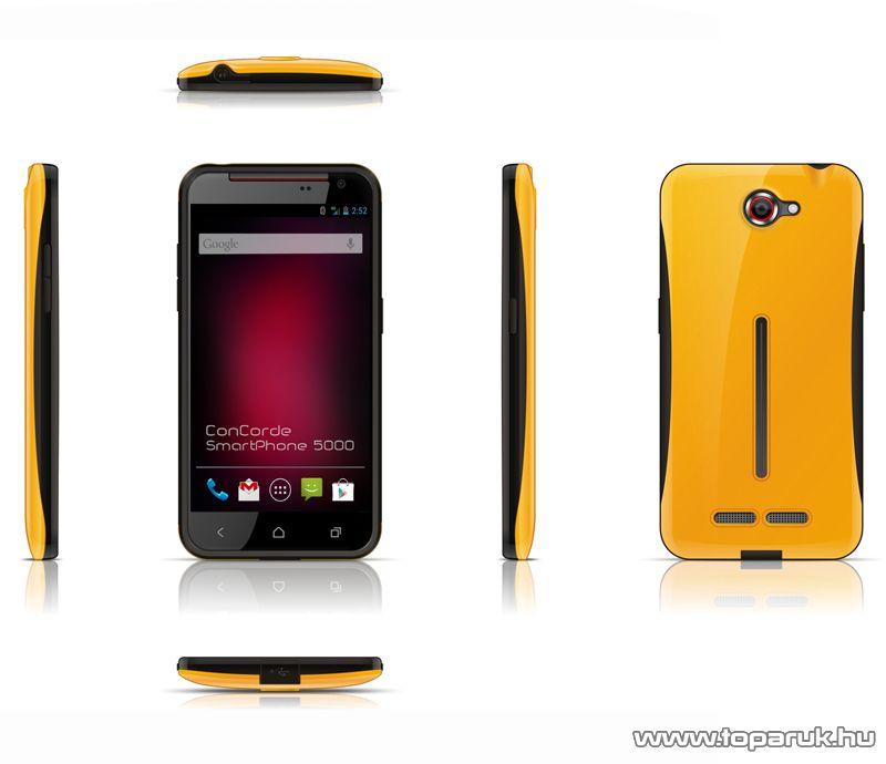 ConCorde SmartPhone 5000 sárga hátlap