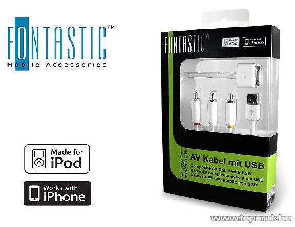 Fontastic iPhone BS-107 audio/video kábel