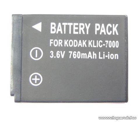 ConCorde for Kodak KLIC7000 akkumulátor - megszűnt termék: 2017. február