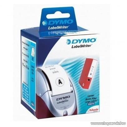 DYMO LW etikett iratrendezőre, fehér, 190x38mm, 110 db / tekercs - megszűnt termék: 2016. július