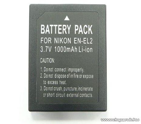 ConCorde for Nikon ENEL2 akkumulátor