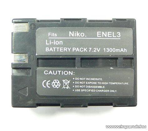 ConCorde for Nikon ENEL3 akkumulátor