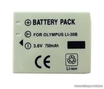 ConCorde for Olympus LI-30B akkumulátor - megszűnt termék: 2016. augusztus