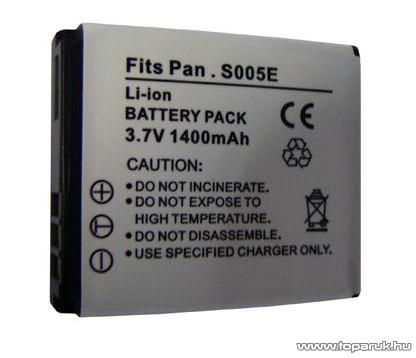 ConCorde for Panasonic CGA-S005E akkumulátor - megszűnt termék: 2015. június