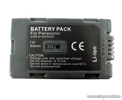 ConCorde for Panasonic D220/D16S akkumulátor