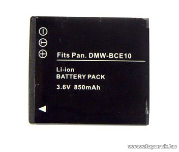 ConCorde for Panasonic DMW-BCE10/S008E akkumulátor - megszűnt termék: 2016. február