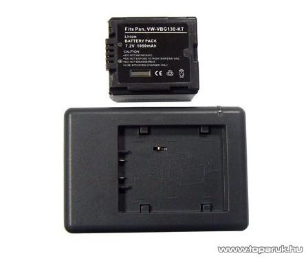 ConCorde for Panasonic VW-VBG130-KT akkumulátor - megszűnt termék: 2015. január