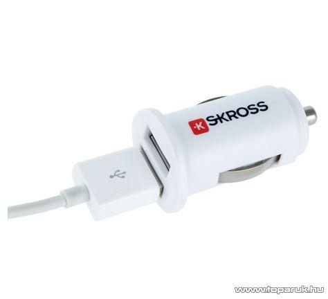 SKROSS 2.900610 Autós dupla USB töltő, 2 x 1 A