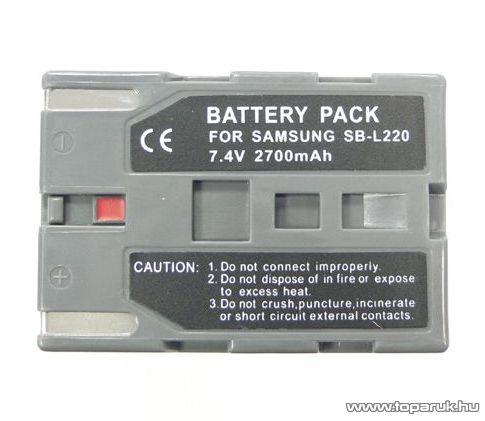 ConCorde for Samsung SBL220 akkumulátor