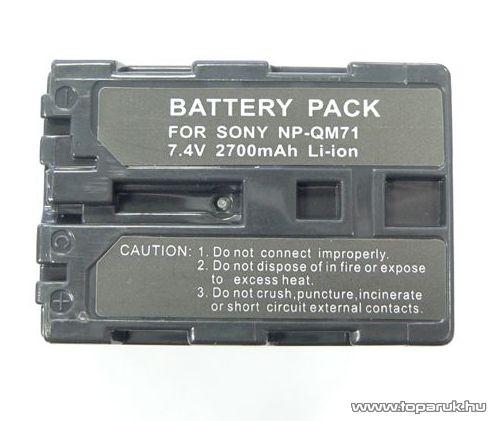 ConCorde for Sony FM70/QM71 akkumulátor